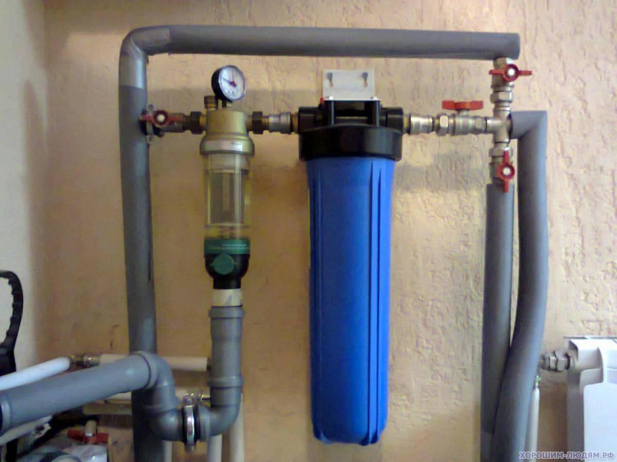 Системы очистки воды для частного дома. лучшие фильтры.