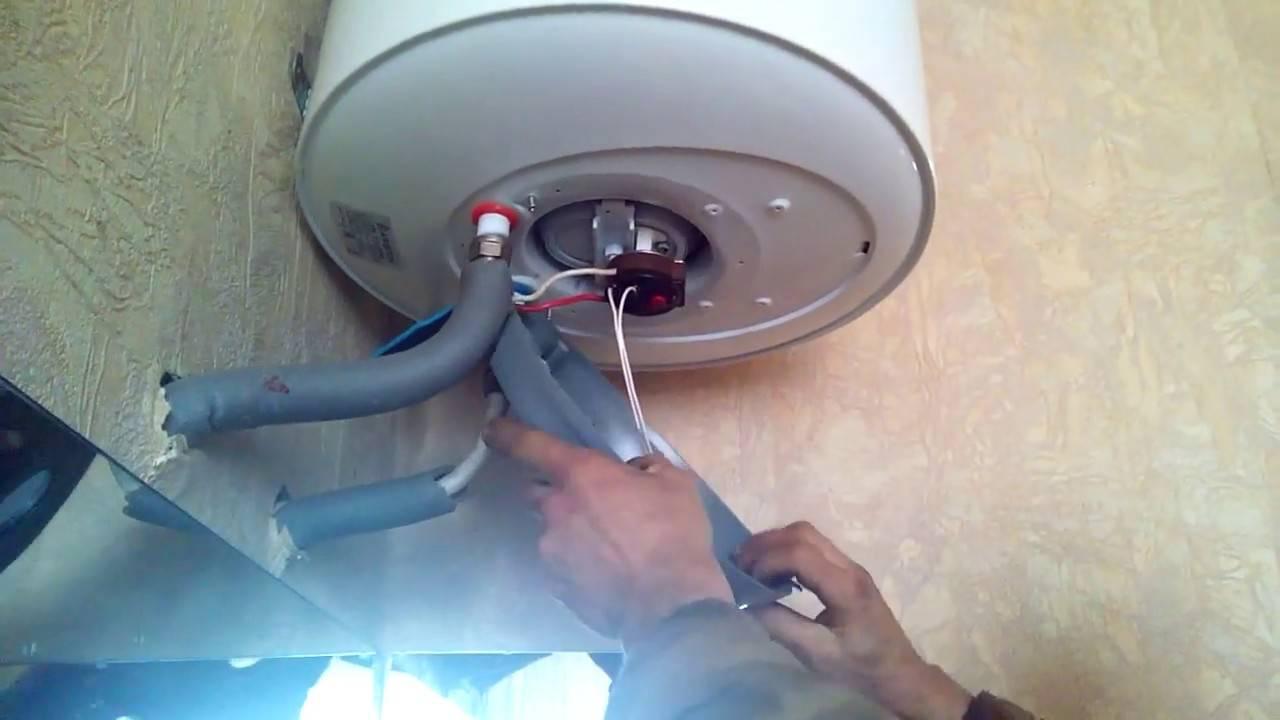 Как заменить тэн для водонагревателя своими руками