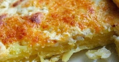 Запеканка из картофеля и соуса бешамель — пошаговый рецепт, видео