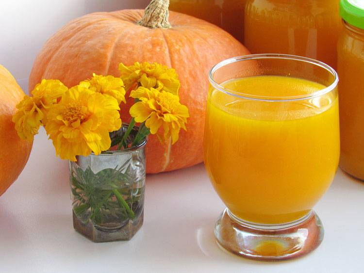 Сок из тыквы на зиму как сделать, приготовление дома