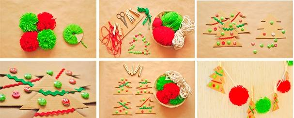 Делаем новогодние игрушки и сувениры своими руками