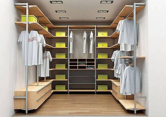 Интересные идеи для обустройства гардеробной