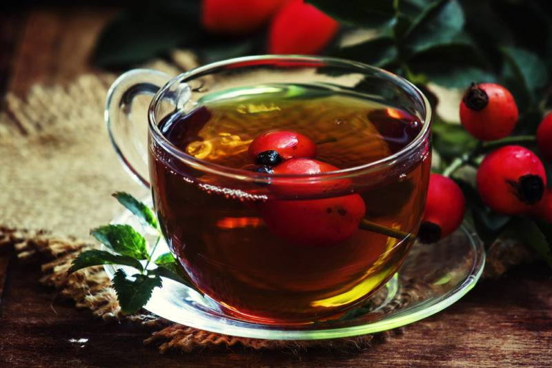 Компот из шиповника на зиму — рецепты приготовления в мультиварке, с яблоками, медом, для детей, видео