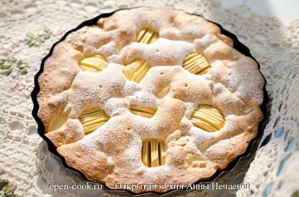 Шарлотка с яблоками в мультиварке простой рецепт шарлотки