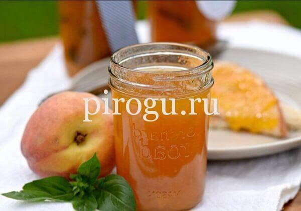 Простой рецепт приготовления варенья из персиков на зиму