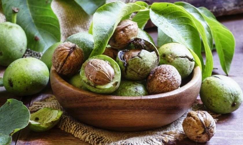 Варенье из грецких орехов зеленых, рецепт приготовления, польза и вред, видео