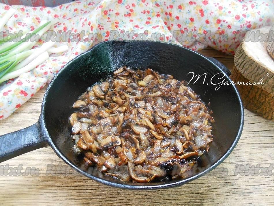 Как пожарить грибы с луком: 6 лучших рецептов