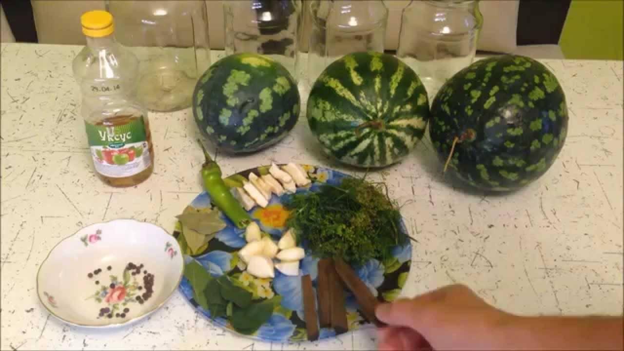Как солить арбузы в бочке — рецепт засолки целых арбузов с добавлением сахара и специй, видео