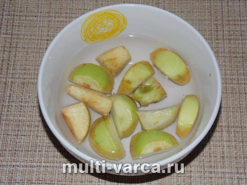 Простое яблочное варенье в мультиварке на зиму дольками