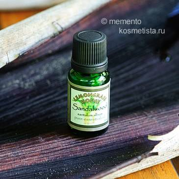 Эфирное масло сандала: свойства и применение для лица, кожи, волос