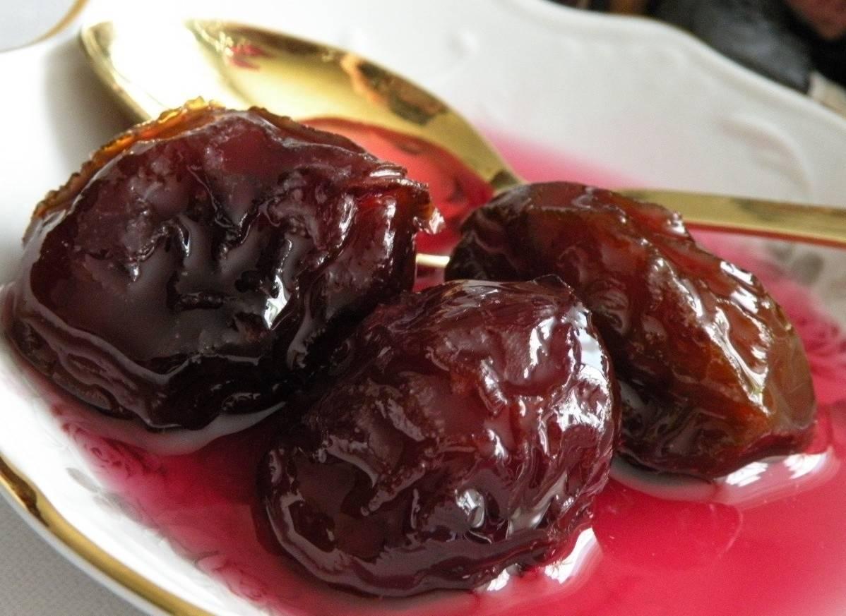 Густое варенье из сливы без косточек на зиму - 5 рецептов с фото пошагово