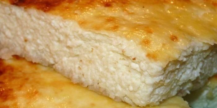Классическая творожная запеканка в духовке – 9 пошаговых рецептов