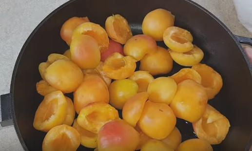 Домашнее варенье из абрикосов дольками