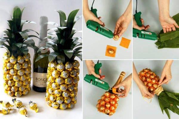 Подарки на новый год 2019 своими руками — сувениры и эко-поделки