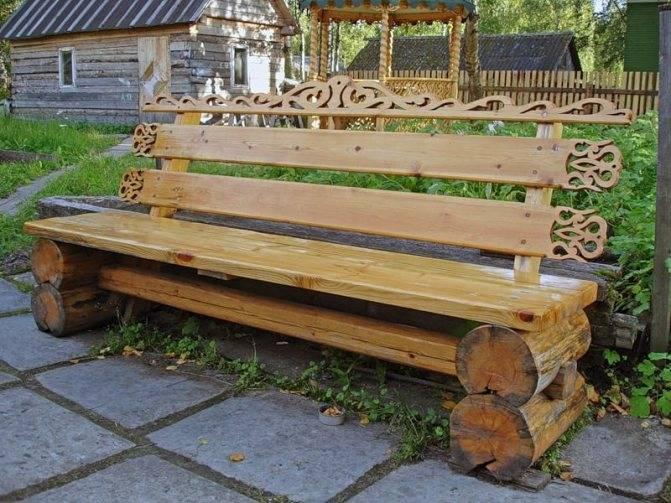 Скамейка для дома. своими руками. 800 фото, пошаговые инструкции