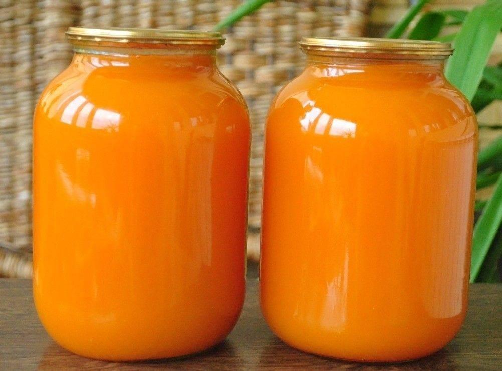 Рецепт приготовления сока из тыквы с апельсином на зиму