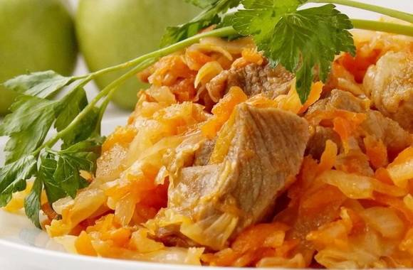 Рецепт картошки, тушеной с капустой в мультиварке