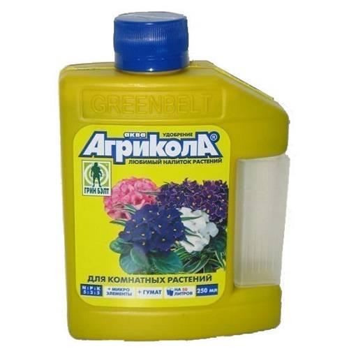 Удобрение агрикола цветочное для внесения в почву — отзывы, описание