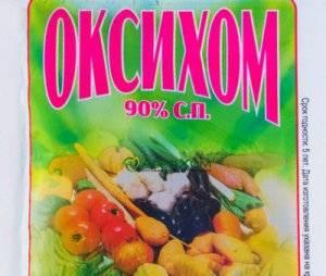 Как применять препарат «хом» от болезней томатов, огурцов и картофеля