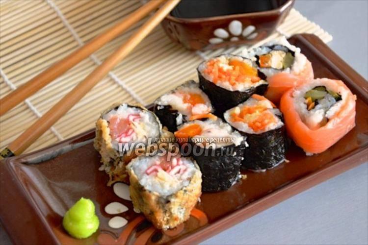 Рецепт роллов и суши в домашних условиях: топ-8 лучших пошаговых рецептов с фото