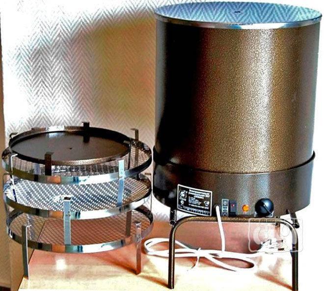 Электрическая коптильня для домашнего использования