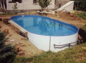 Обустройство бассейна на дачном участке — практичные фото идеи