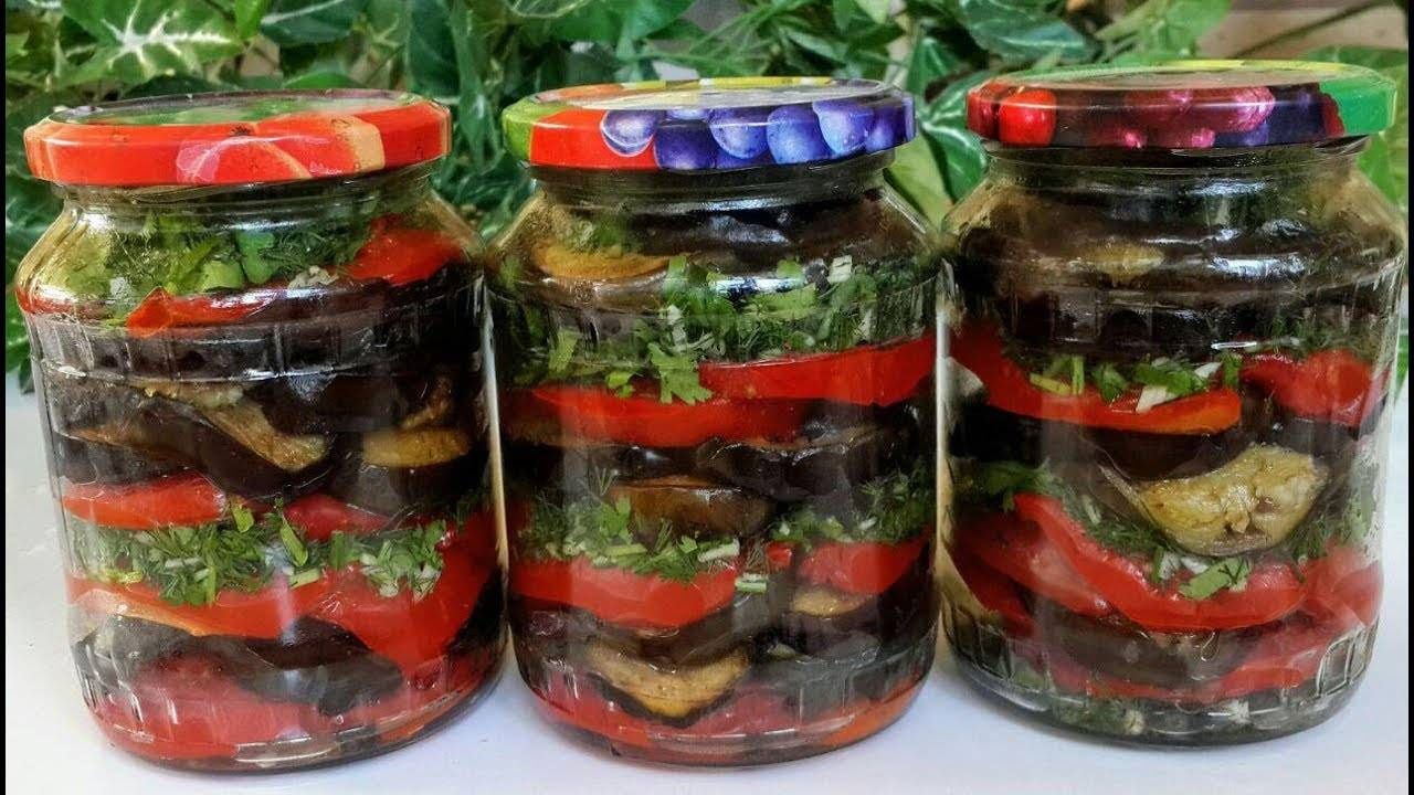 Салаты из баклажанов на зиму: рецепты пальчики оближешь