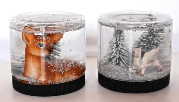Как сделать снежный шар?