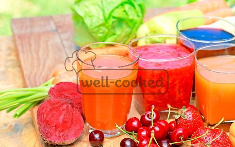 Свежевыжатый яблочный сок — польза и вред