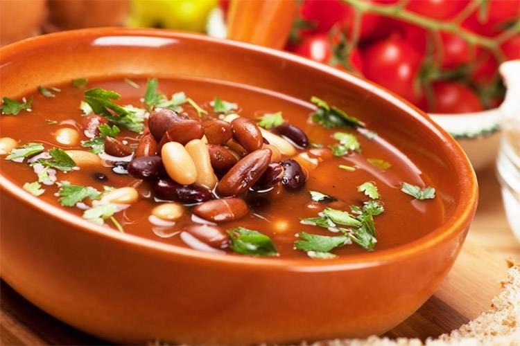 Как сварить классический фасолевый суп по пошаговому рецепту с фото