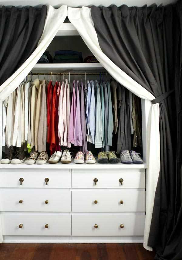 Как сделать гардеробную своими руками