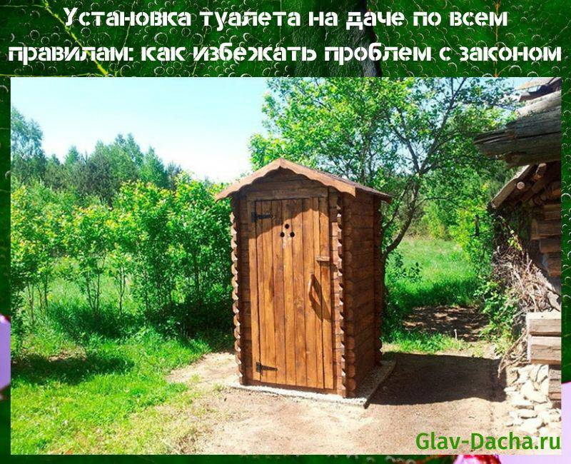 Установка туалета на даче по всем правилам, где расположить