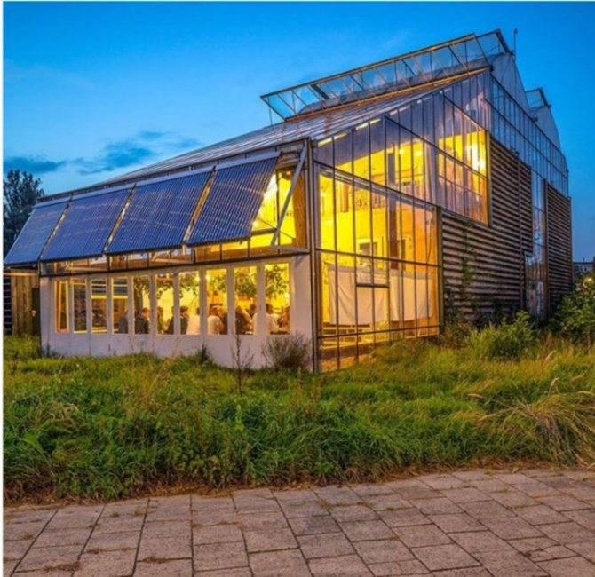 Устанавливаем теплицу на крыше или чердаке дома. самые энергоэффективные проекты: шведский дом с теплицей