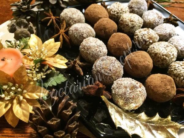 Рецепт пп конфет из фиников. быстро, вкусно, полезно: конфеты из фиников со специями.