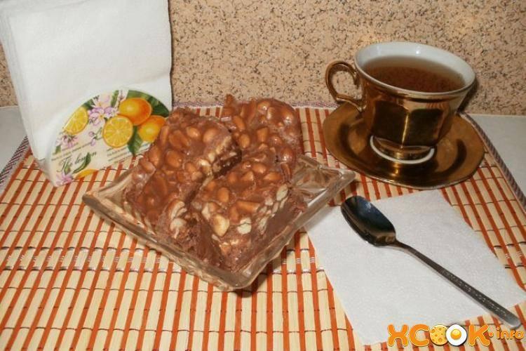 Вкусный домашний щербет с арахисом