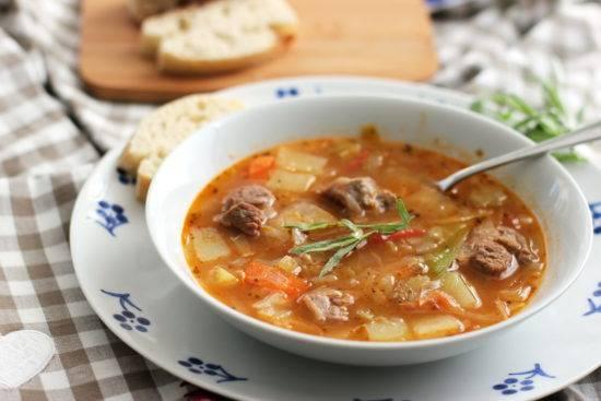Суп с рисом картофелем и мясом - пошаговые рецепты с фото, видео