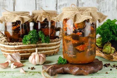 Соте из баклажанов на зиму: рецепты приготовления