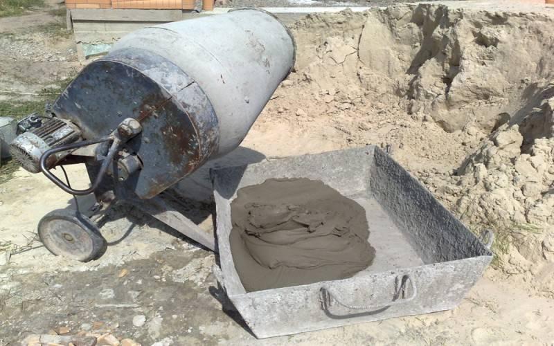 Пропорции и состав бетона для фундамента