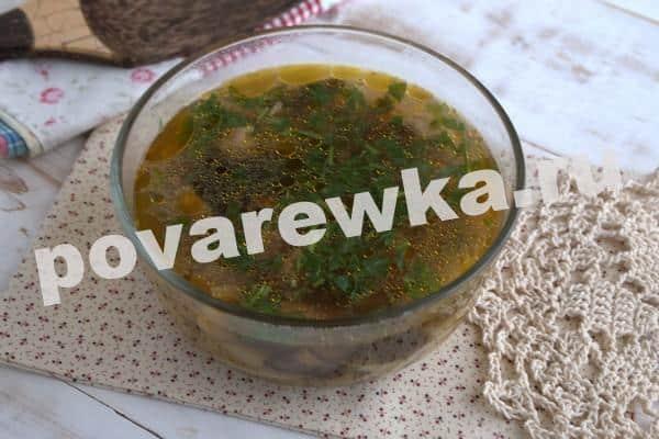 Грибной суп из шампиньонов – 10 очень вкусных рецептов