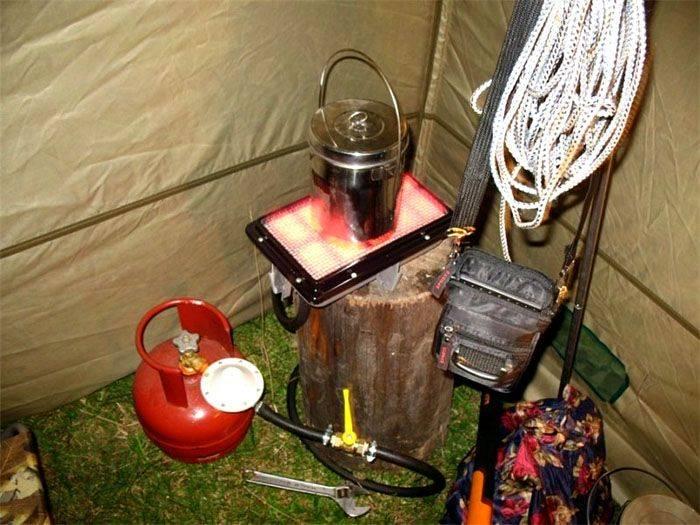 Проверенные способы обогрева палатки на зимней рыбалке. часть 1.