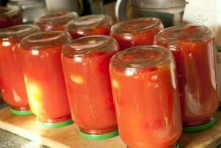 Черри рецепт консервирования стерилизация. рецепты консервирования томатов черри в собственном соку