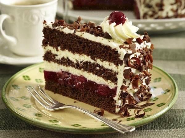 Торт пьяная вишня классический рецепт в домашних условиях