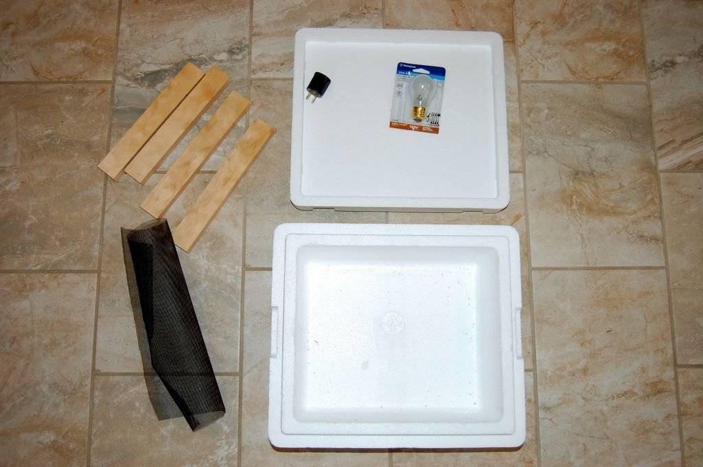 Как сделать инкубатор своими руками: чертежи и описание