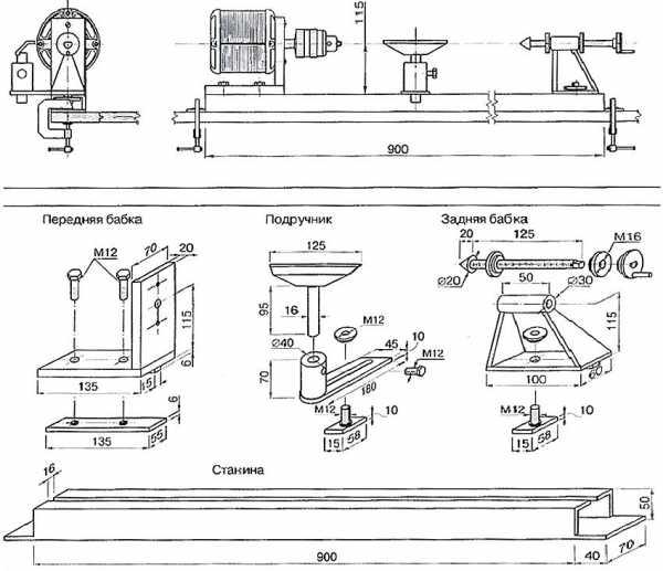 Как самостоятельно сделать токарный станок из дрели