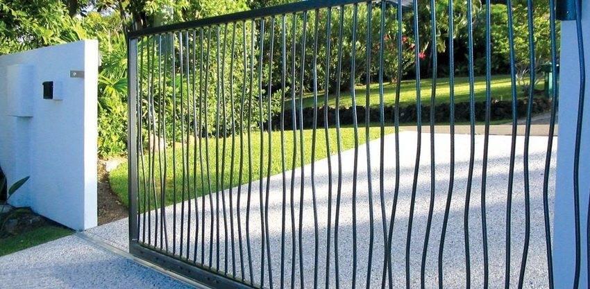 Как изготовить откатные ворота своими руками