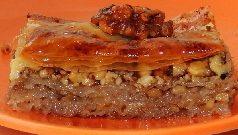 Любимая восточная сладость своими руками: пахлава в домашних условиях — рецепт с фото