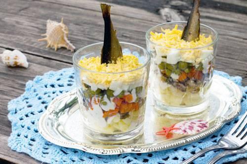 Новогодние рецепты с крабовыми палочками - 84 домашних вкусных рецепта приготовления