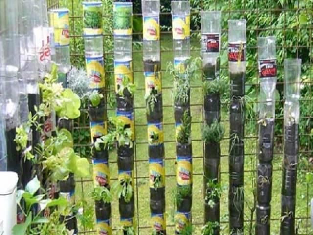 Лучшие варианты вертикальных грядок и клумб на даче и огороде