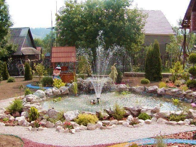 Насосы для водопадов и фонтанов: характеристика и критерии выбора