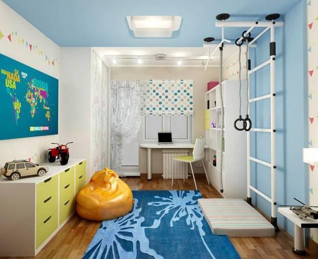 Шведская стенка для детей в квартиру: обзор популярных моделей